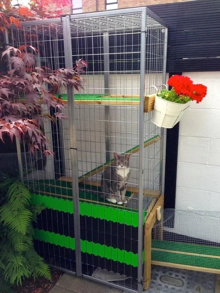 A Garden Catio Cat Paradise IKEA Hackers IKEA Hackers