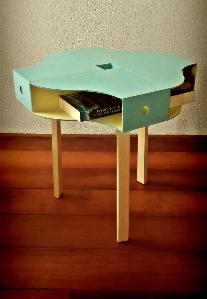 Colourful Knuff Table Ikea Hackers