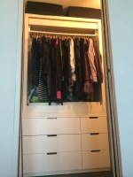 drawers for closet