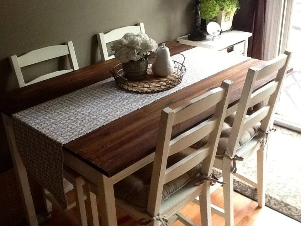 Fancy Barn Board Table Set