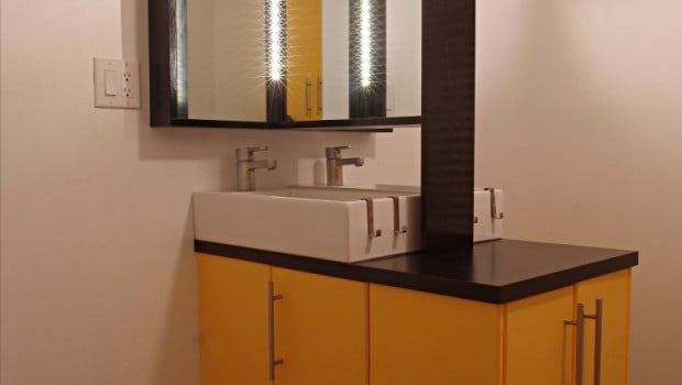 Back To Back Lillangens With Double Sink IKEA Hackers