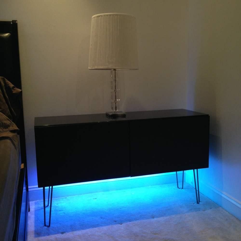 Turning Besta Shelf Unit Into A Contemporary Modern