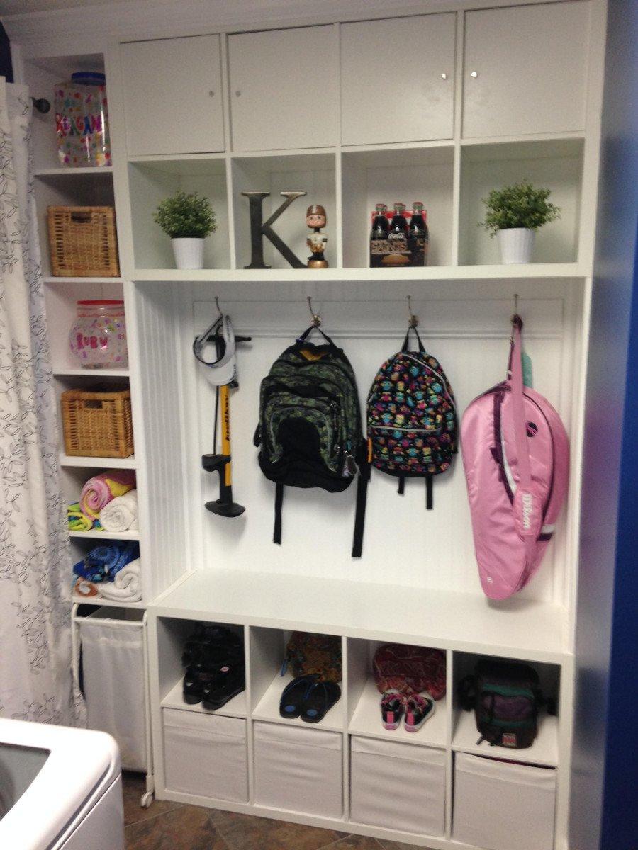 Mudroom Laundry Room Or Entryway Organization Cubbies