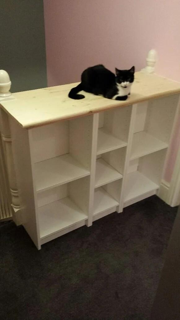shortening BILLY bookcases