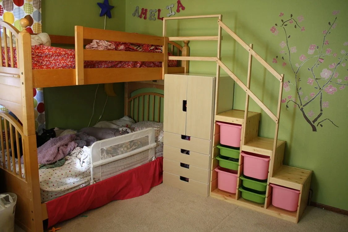 Perfect Easy Full Height Bunk Bed Stairs