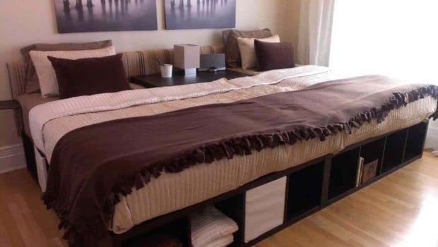 Oversize Bed IKEA Hackers