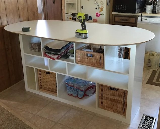 Sl 228 Hult Table Top Expedit Shelf Unit Kitchen Island