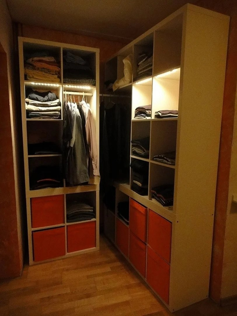 Bedroom Wardrobe Storage