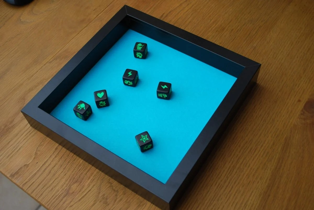 Board Gaming Dice Tray Using Ribba Frame IKEA Hackers