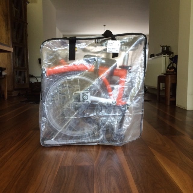 Brompton In An Ikea Bag Ikea Hackers