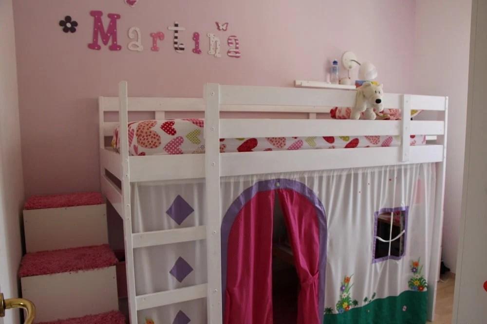 Mydal Loftbed With Play Area For Girl S Room Ikea