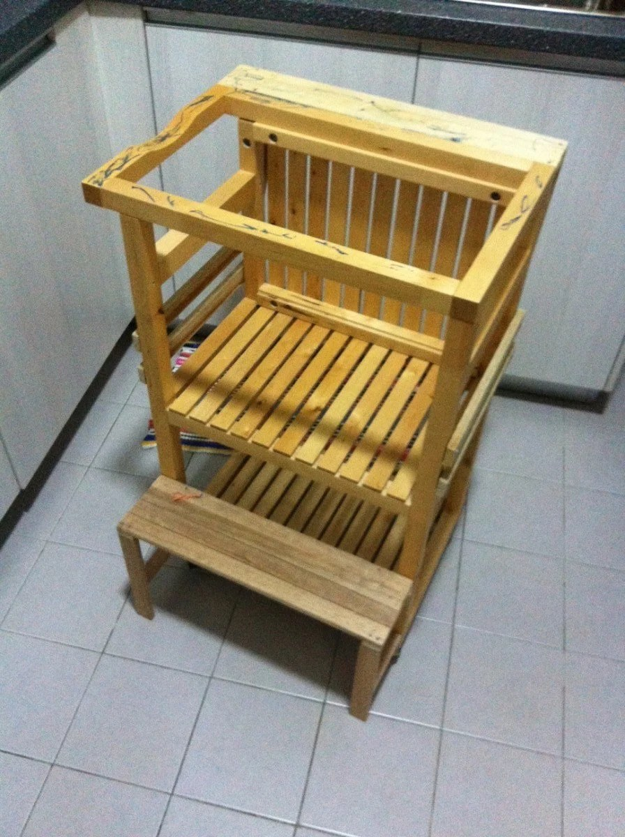 Learning Tower From Ikea Molger Cart Ikea Hackers