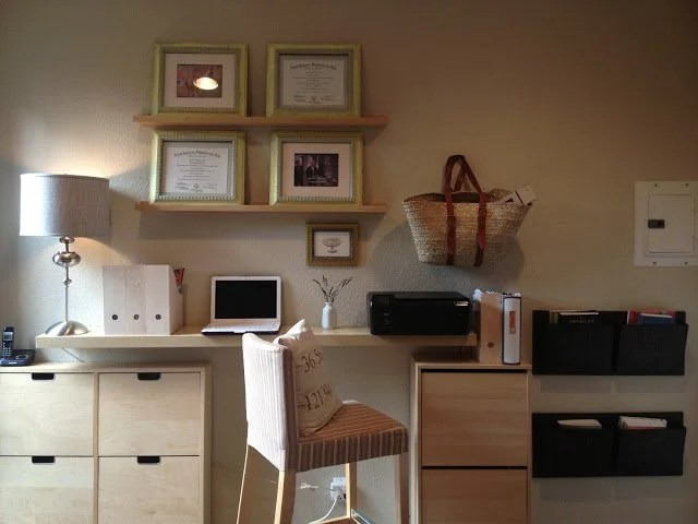 Minimalist Home Office Hack IKEA Hackers IKEA Hackers
