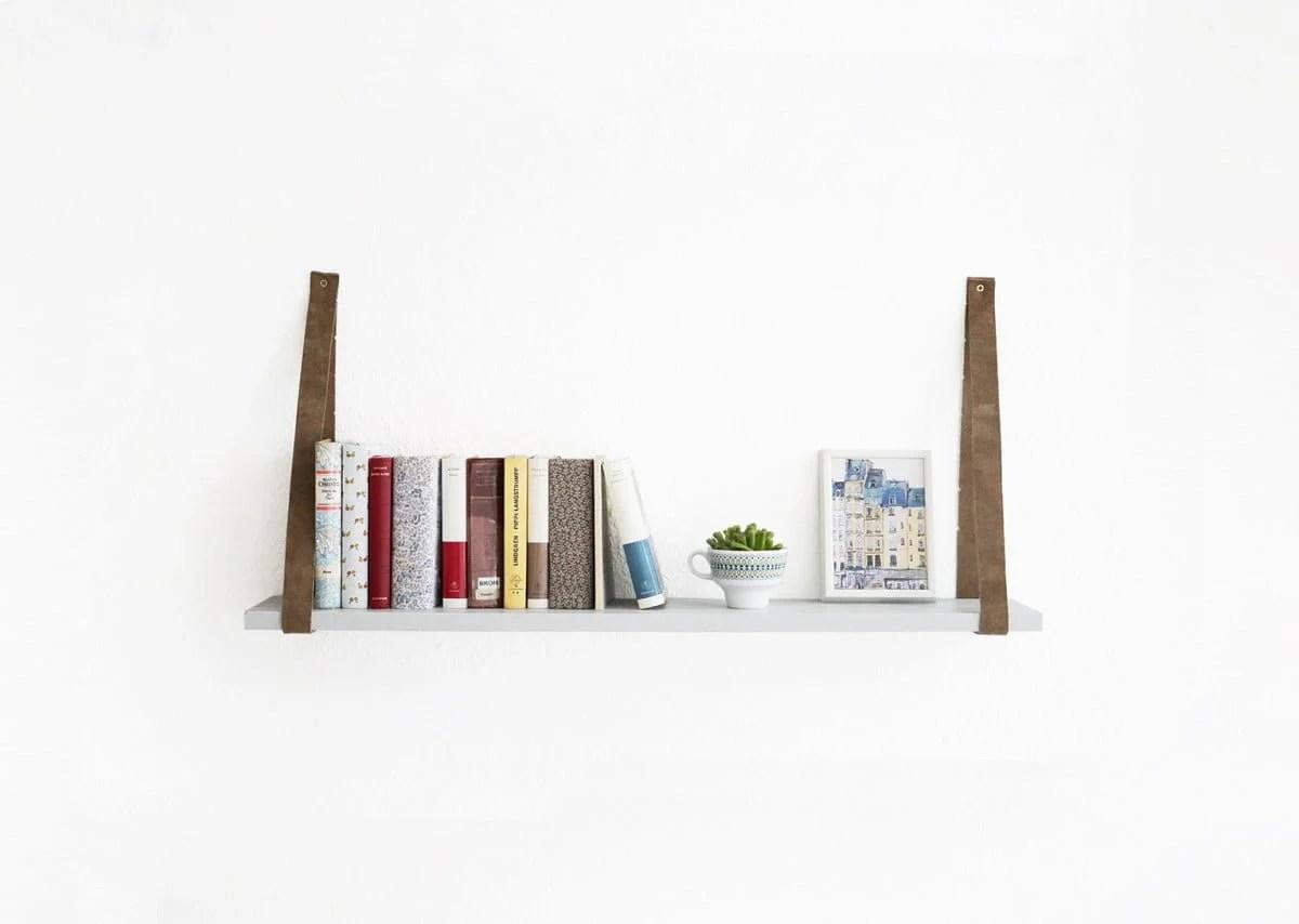 An IVAR shelf with a belt
