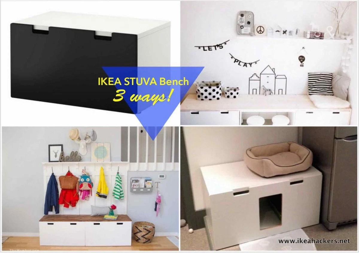IKEA STUVA Bench 1 Item 3 Ways IKEA Hackers