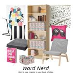 IKEA Back to College style boards - Word Nerd