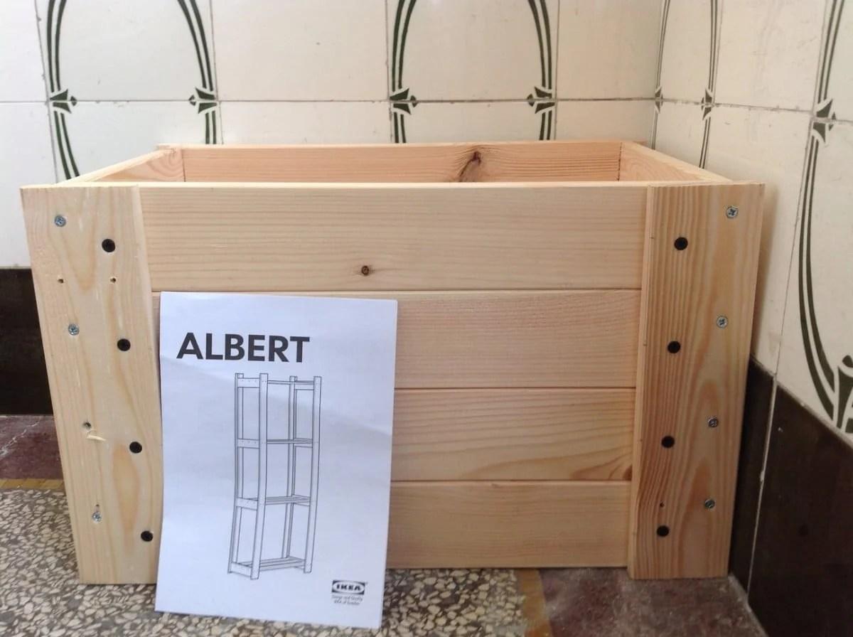Crated Albert A DIY Crate IKEA Hackers IKEA Hackers