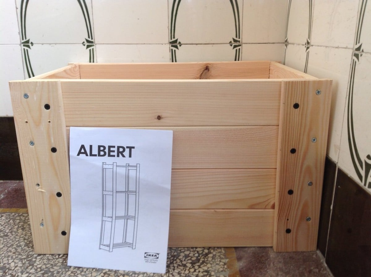 Crated Albert A Diy Crate Ikea Hackers