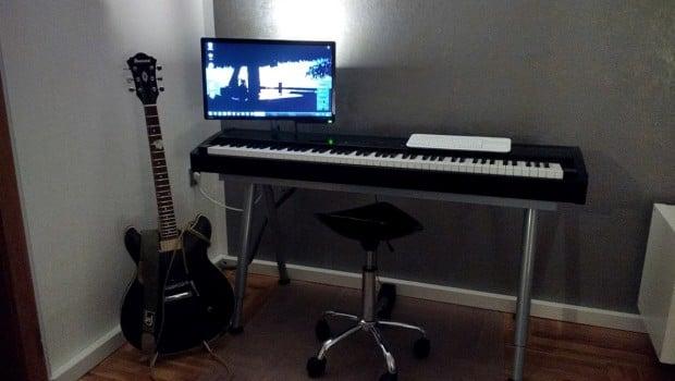 Ikea Galant Piano Keyboard Stand Ikea Hackers Ikea