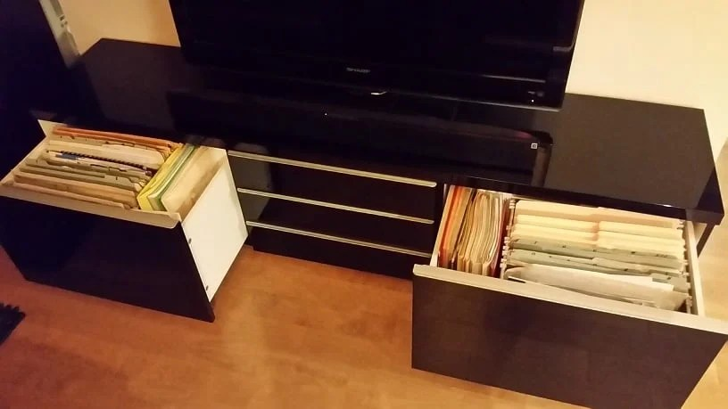 Horizontal BEST Filing Cabinet IKEA Hackers