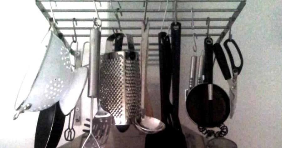 Pot Rack Ikea Hanging