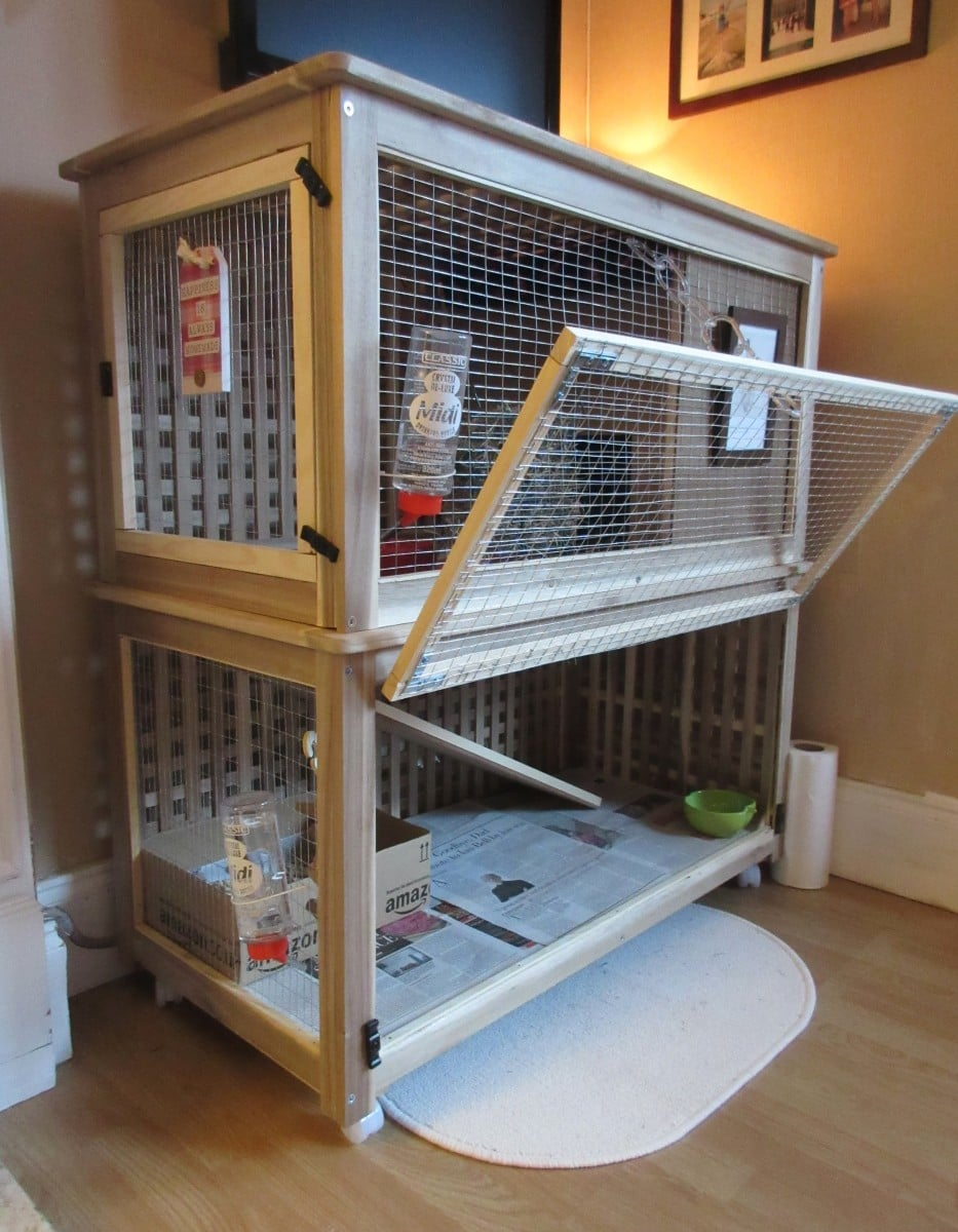 DIY rabbit cage - IKEA HACK