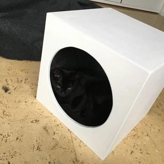 Cat Cave Insert for Expedit/Kallax