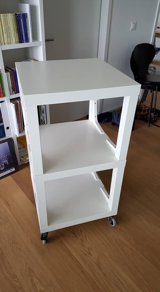 IKEA Lack Hifi Rack