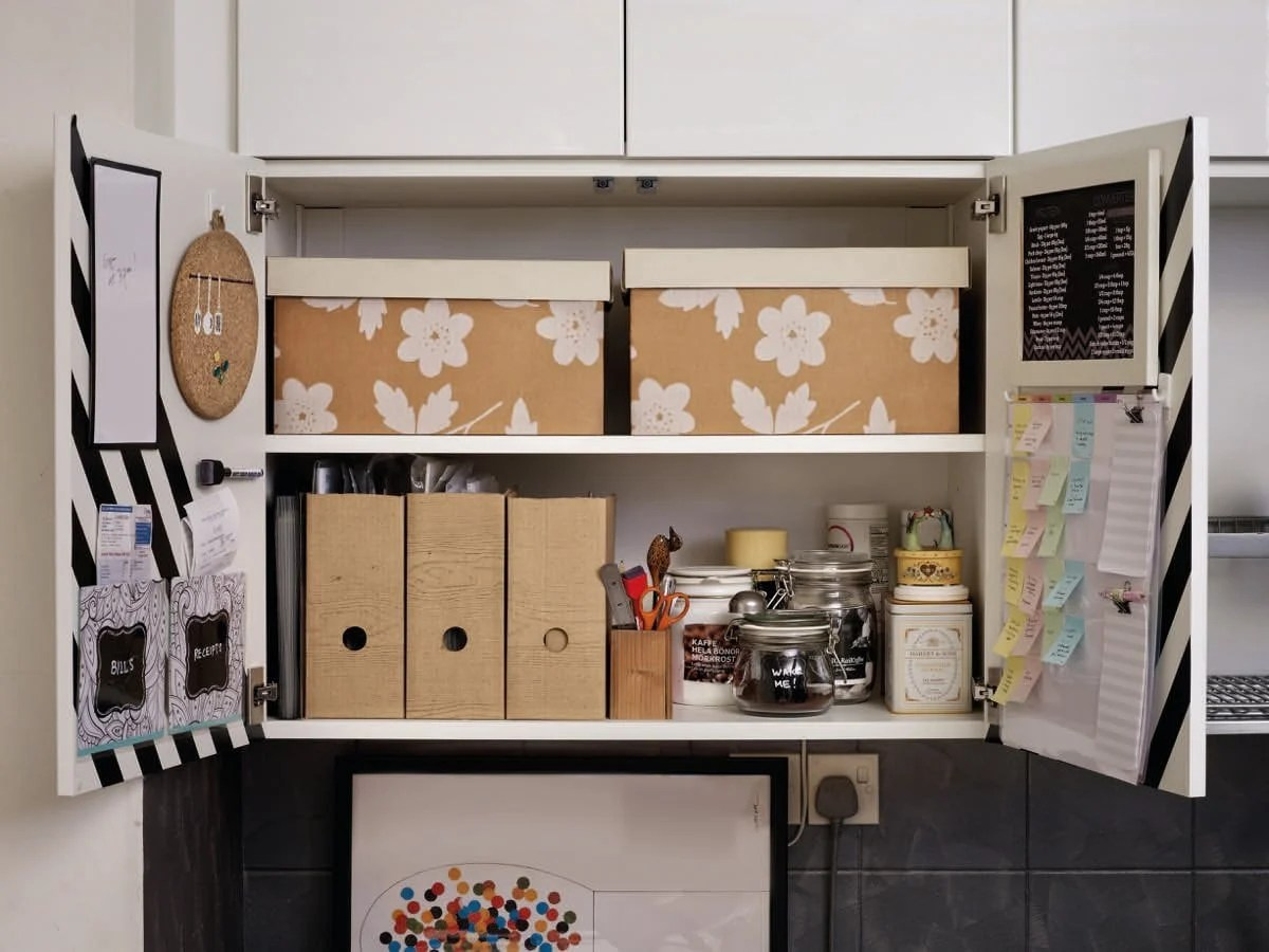 My Kitchen Command Centre In A Metod Cabinet Ikea