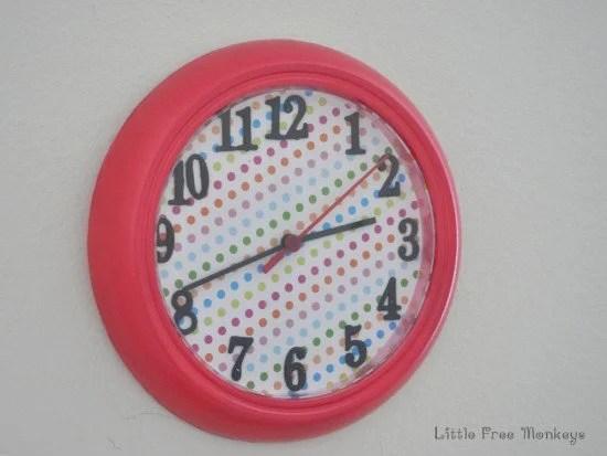 Ikea Ruch wall clock hack
