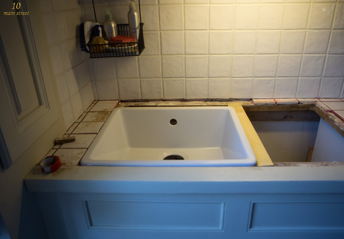 Undermount Single Bowl Ikea Domsj Sink For A Vintage