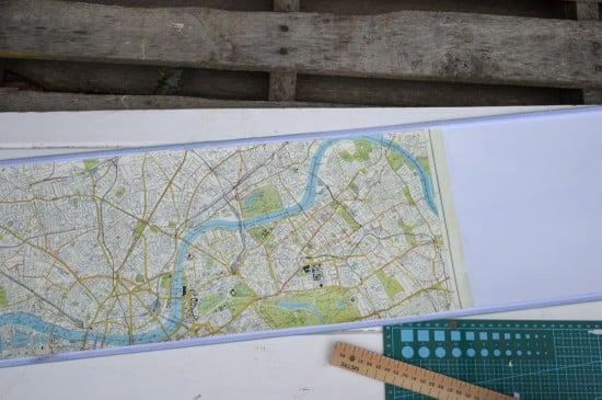 Cut map to sizd