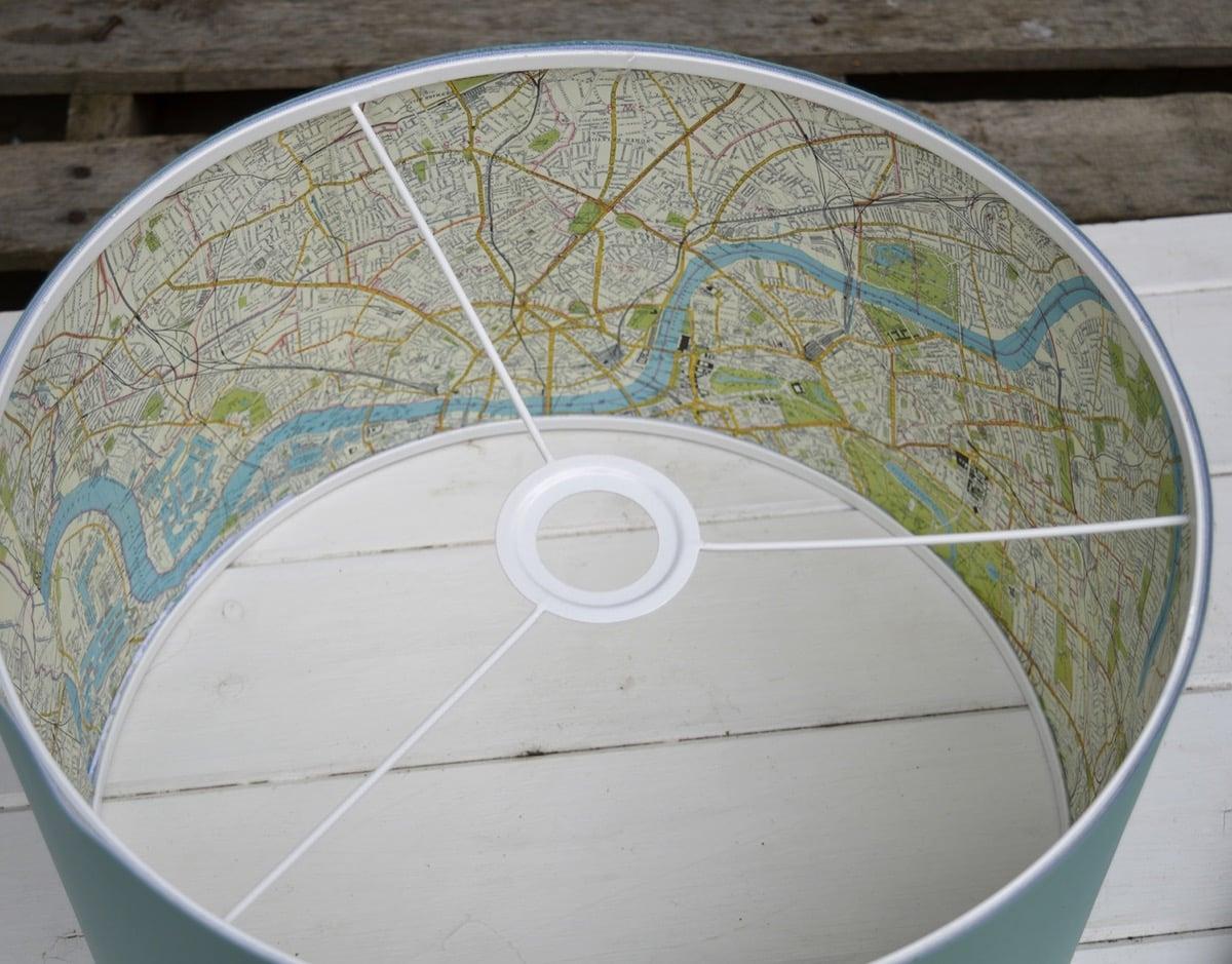 map lamp shade hack