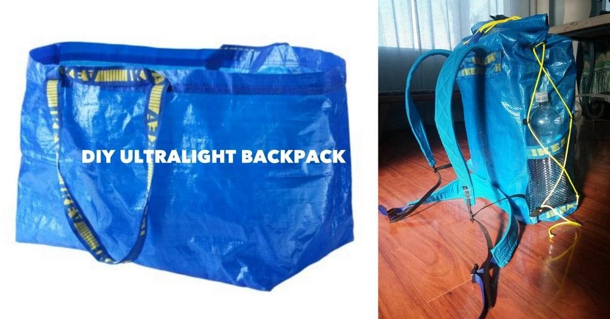 IKEA Ultralight Backpacking Pack IKEA Hackers IKEA Hackers