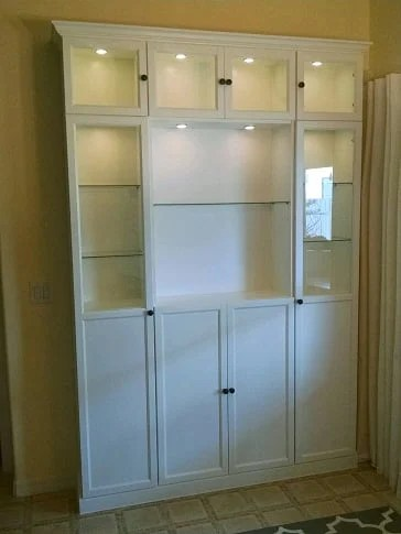 IKEA BILLY China Cabinet Hack