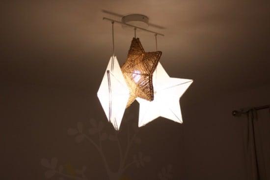 Stråla-Tross Star Chandelier