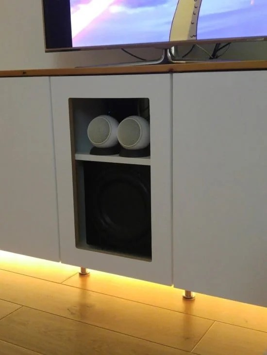 7-ikea metod TV unit