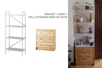 Dining room sideboard from hemnes dresser ikea hackers for Ikea draget