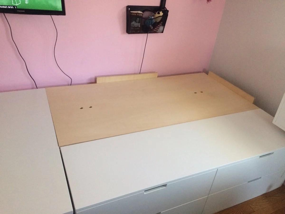 Nordli 10 Drawer Platform Bed