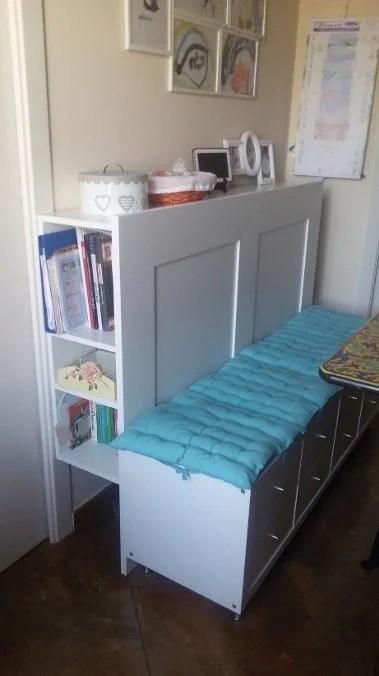 Kitchen Bench With Brimnes Kallax And Capita Ikea Hackers