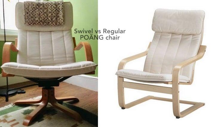 Swivel vs Regular PONG chair