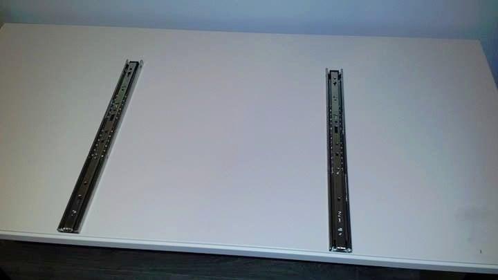 drawer slides for the midi keyboard