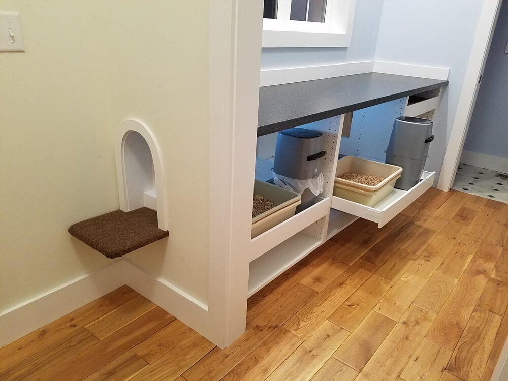IKEA Hack Hidden Cat Litter Box Enclosure