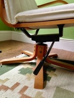 Swivel POÄNG chair base