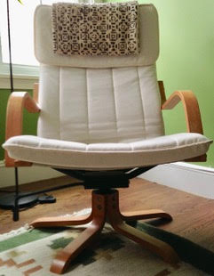 Swivel POÄNG chair