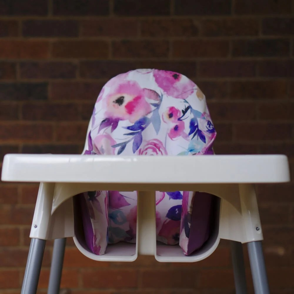 IKEA High Chair cushion design - watercolour