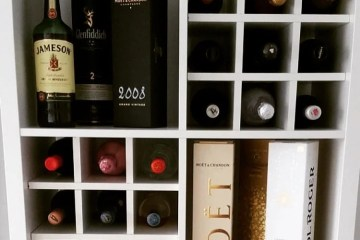 kallax wine rack insert