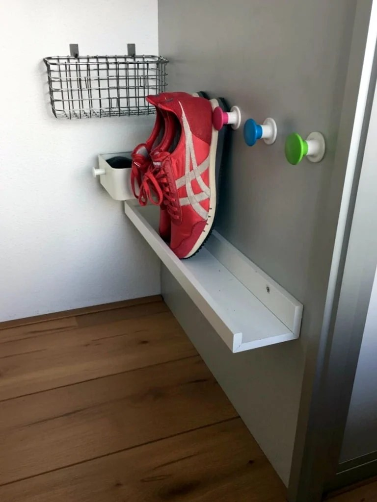 small space storage for shoes