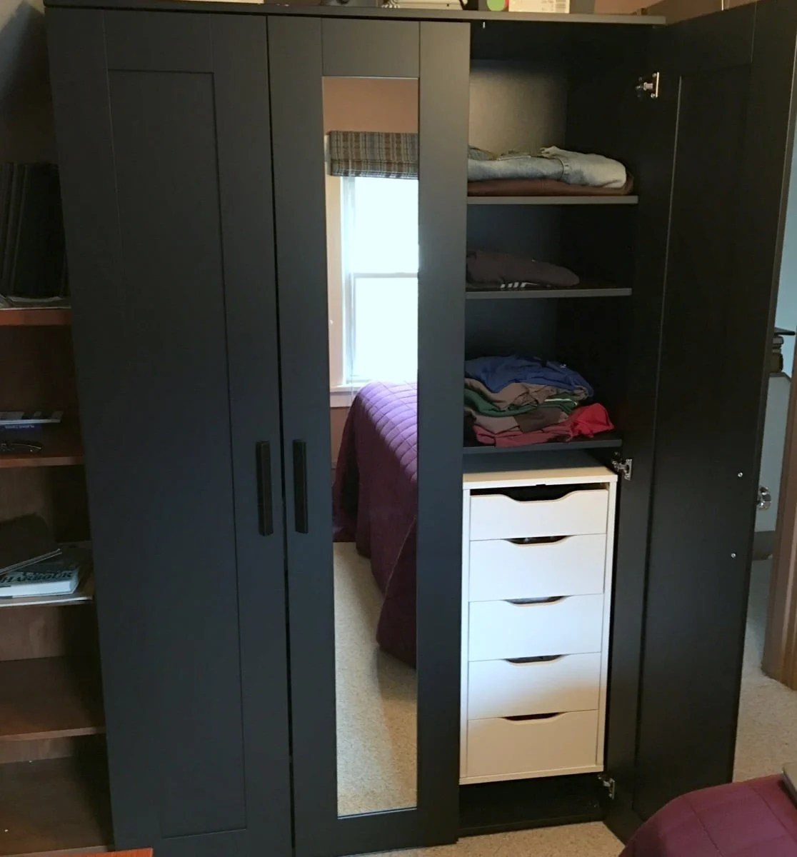 with drawer anastasia wardrobe triple anatastia drawers underbed