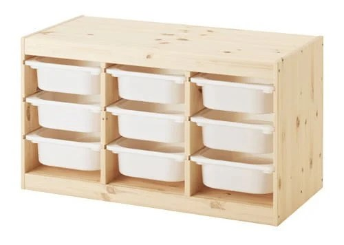 Merveilleux Trofast Ikea Storage Boxes With Frame